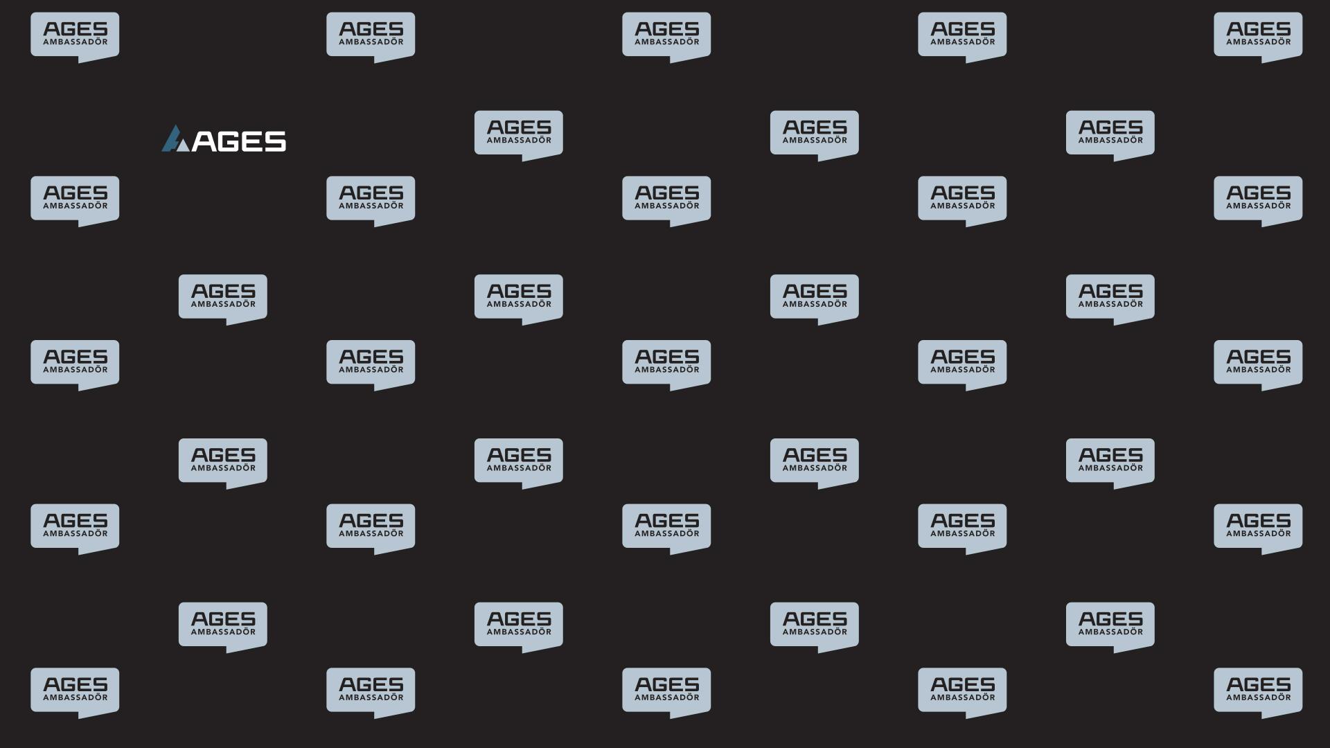 AGES Logotypvägg