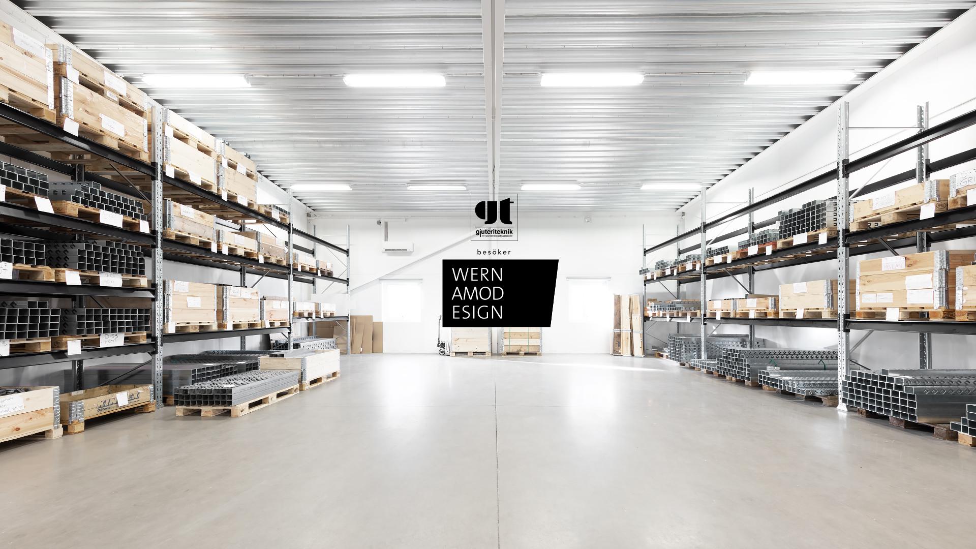 Gjuteriteknik på kundbesök hos Wernamo Design