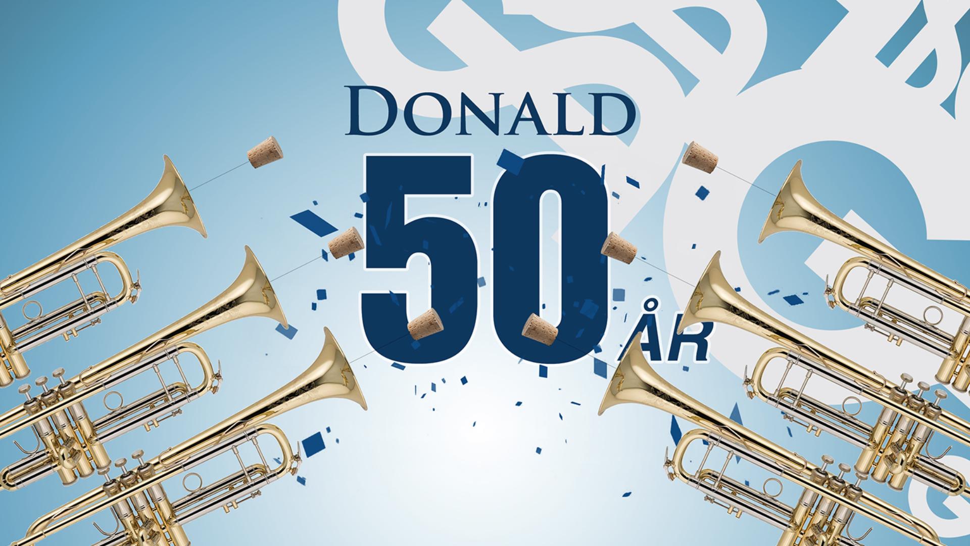 Donald 50 år