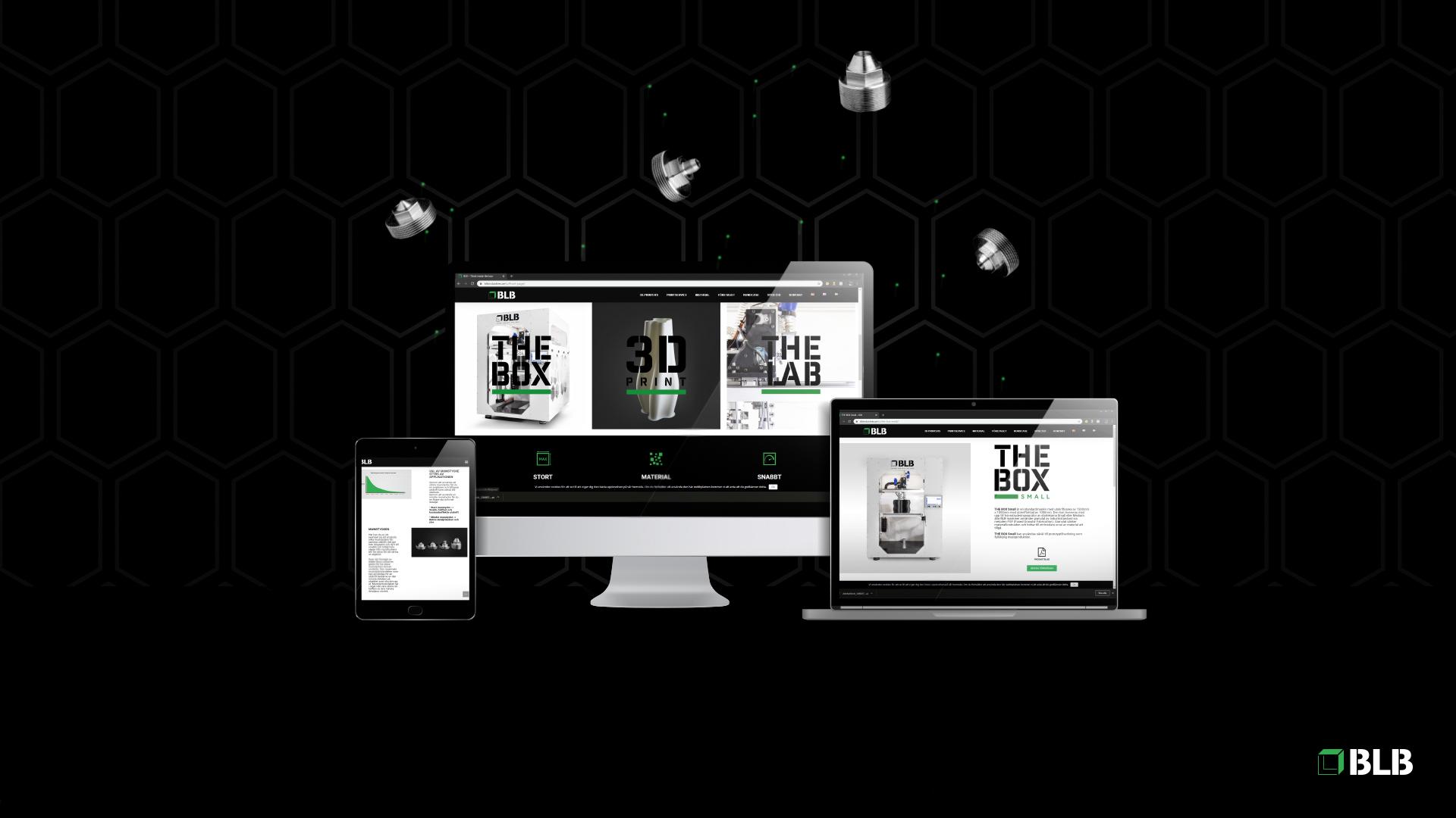 BLB Industries - Nyhet Ny webbsida
